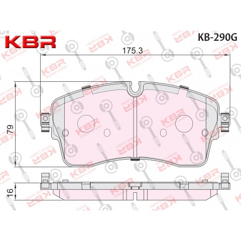 KB290G - KB2133   -   Brake Pad