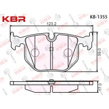 KB1355   -   Brake Pad