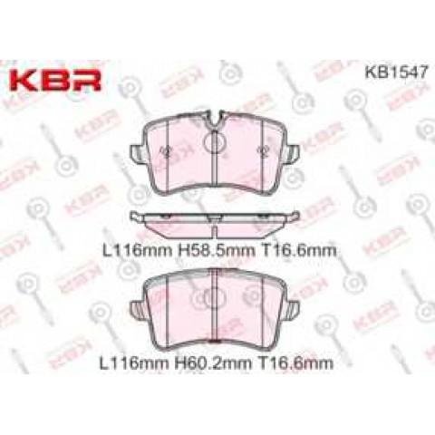 KB1547   -   Brake Pad