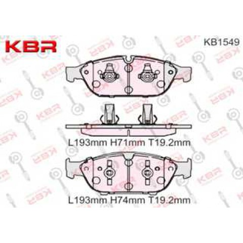 KB1549   -   Brake Pad