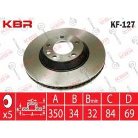 KF127   -   Brake Disc