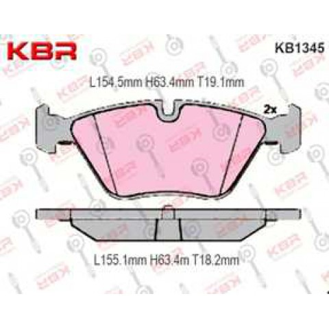 KB1345   -   Brake Pad