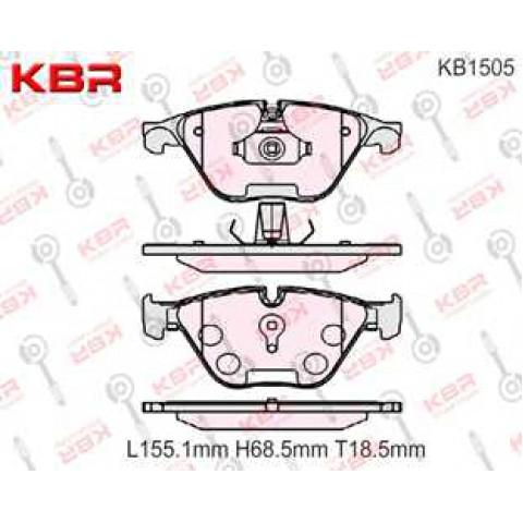 KB1505   -   Brake Pad