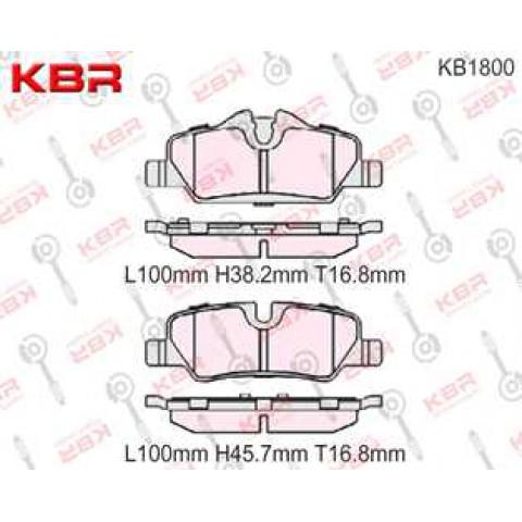 KB1800   -   Brake Pad