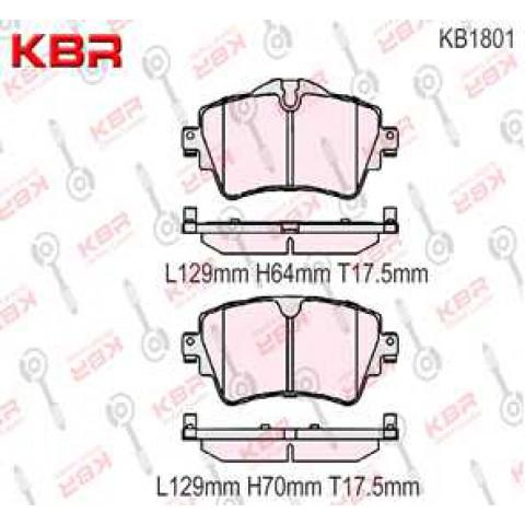 KB1801   -   Brake Pad
