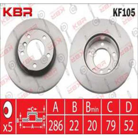 KF105  -  Brake Disc