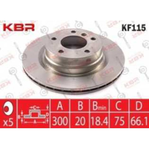 KF115   -   Brake Disc