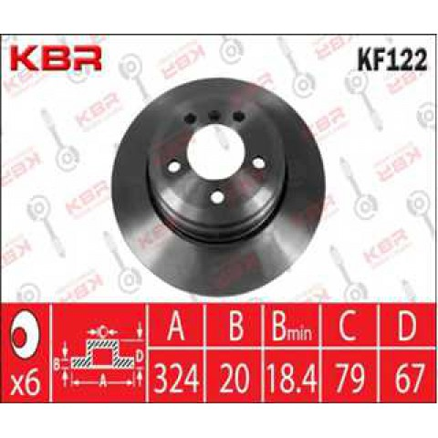 KF122   -   Brake Disc