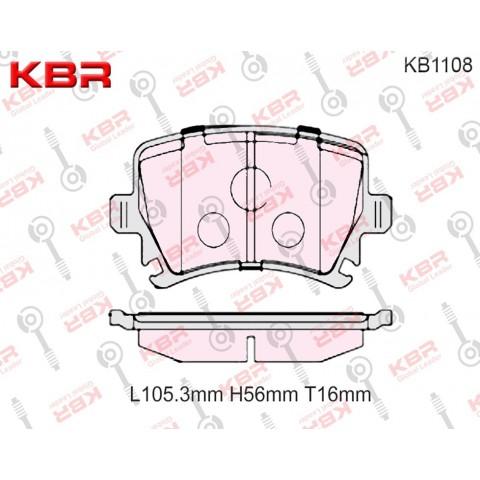 KB1108   -   Brake Pad
