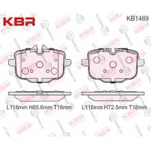KB1469   -   Brake Pad