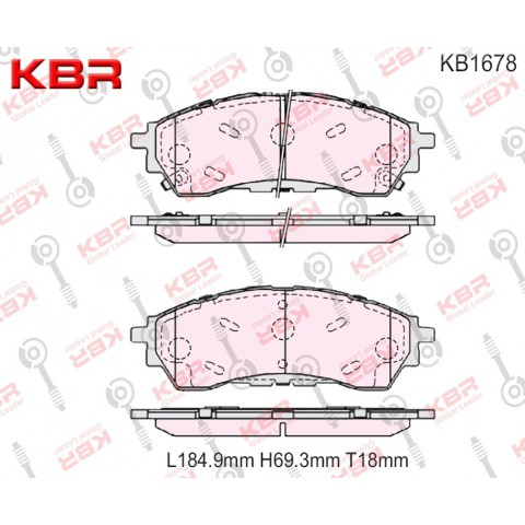 KB1678   -   Brake Pad