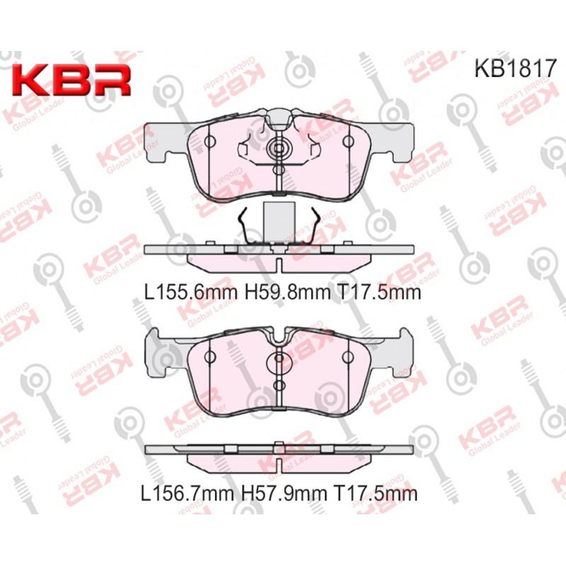 KB1817   -   Brake Pad