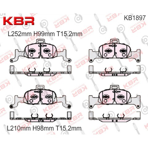 KB1897   -   Brake Pad