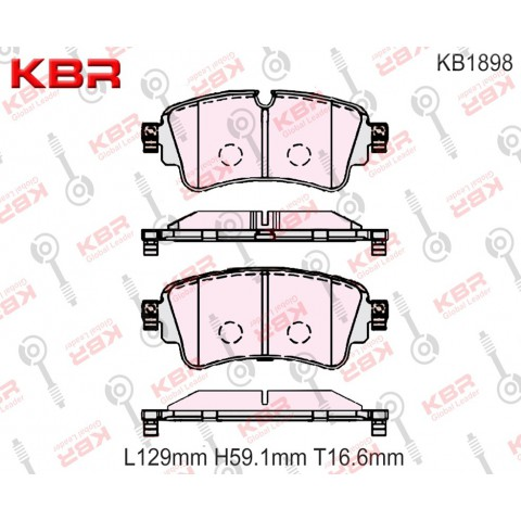 KB1898   -   Brake Pad