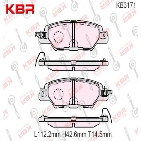 KB3171   -   Brake Pad