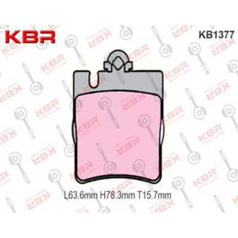 KB1377   -   Brake Pad Rear