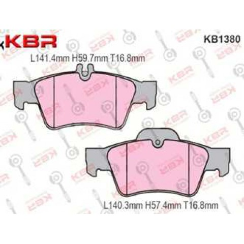 KB1380   -   Brake Pad