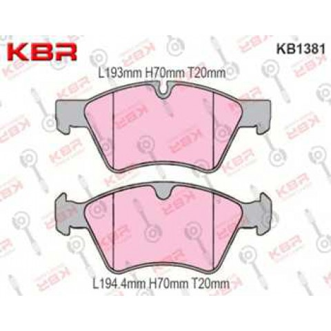 KB1381   -   Brake Pad