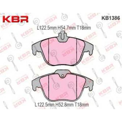 KB1386   -   Brake Pad