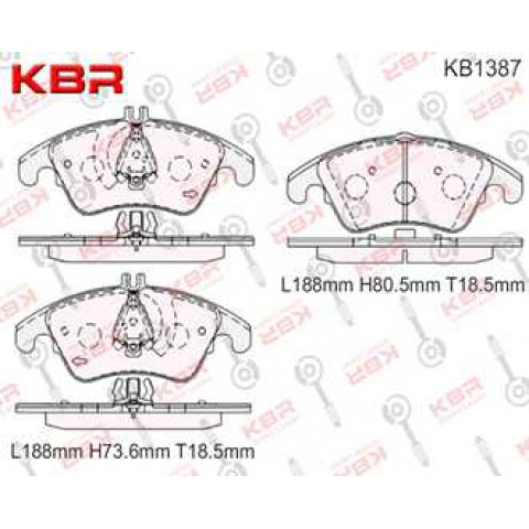 KB1387   -   Brake Pad