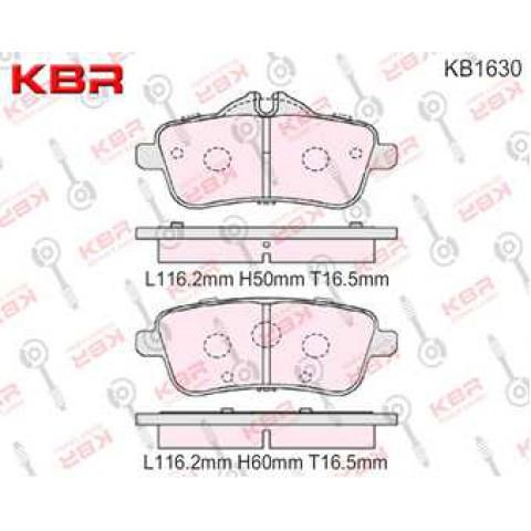KB1630    -   Brake Pad