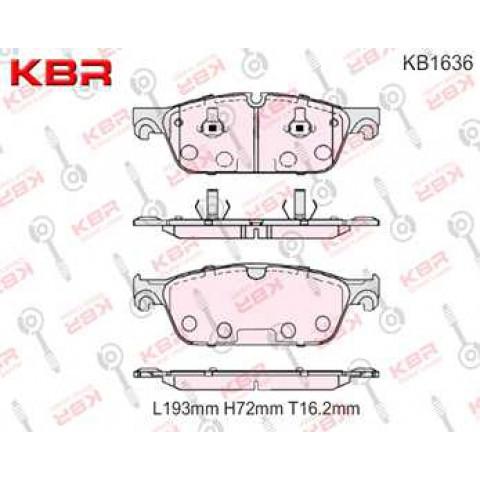 KB1636   -   Brake Pad