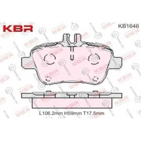 KB1646   -   Brake Pad