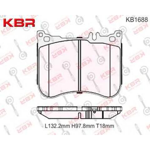 KB1688   -   BRAKE PAD