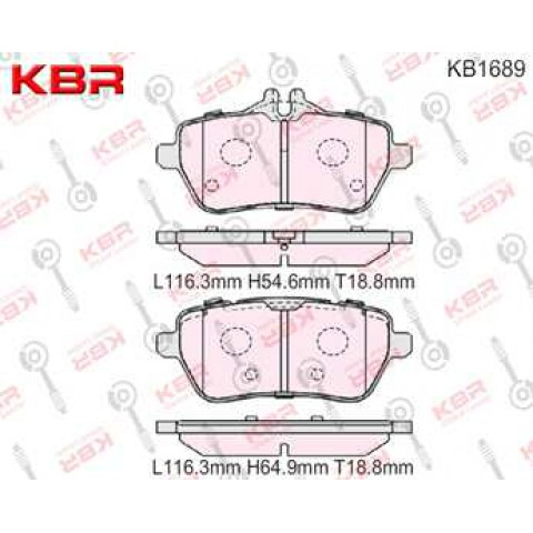 KB1689   -   BRAKE PAD