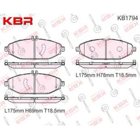 KB1794   -   Brake Pad