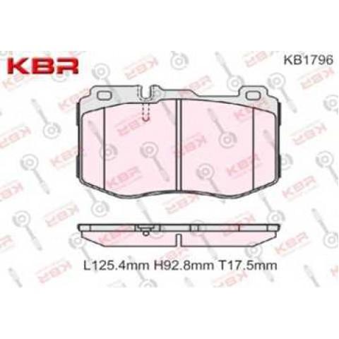 KB1796   -   Brake Pad