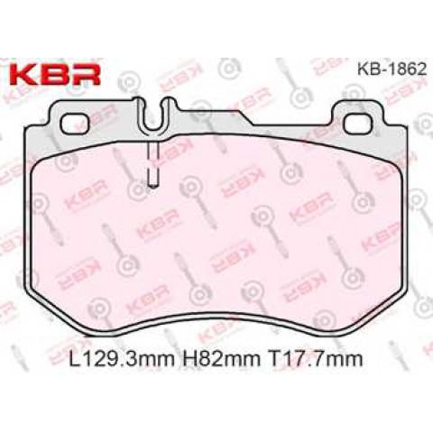 KB1862   -   Brake Pad