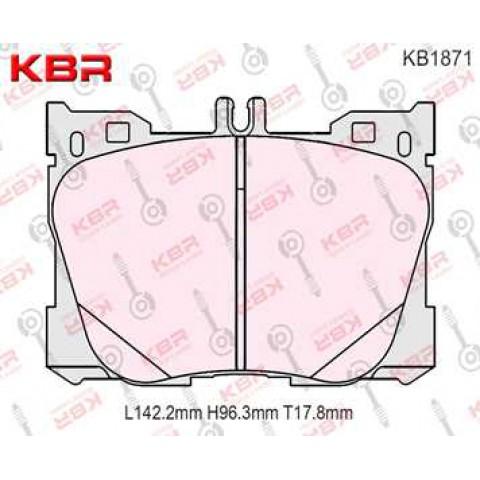 KB1871   -   Brake Pad