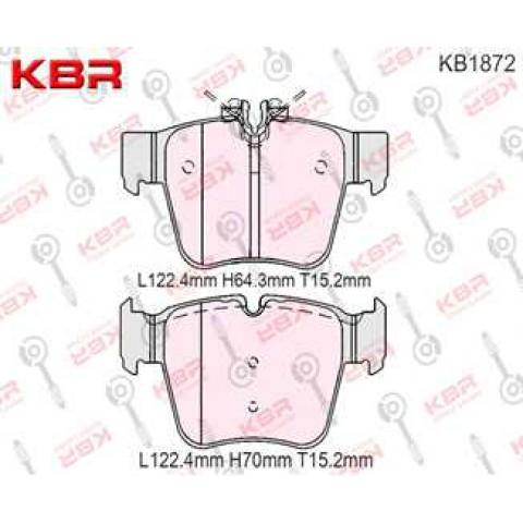 KB1872   -   Brake Pad