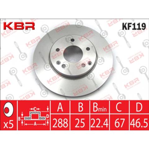 KF119   -   Brake Disc