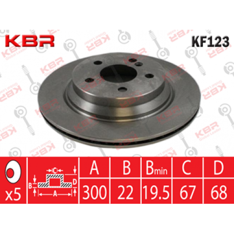 KF123   -   Brake Disc