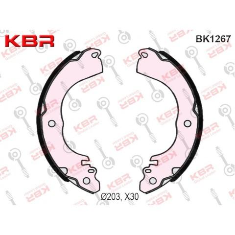 BK1267   -   BRAKE SHOE