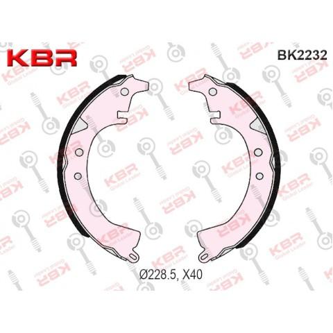 BK2232   -   BRAKE SHOE