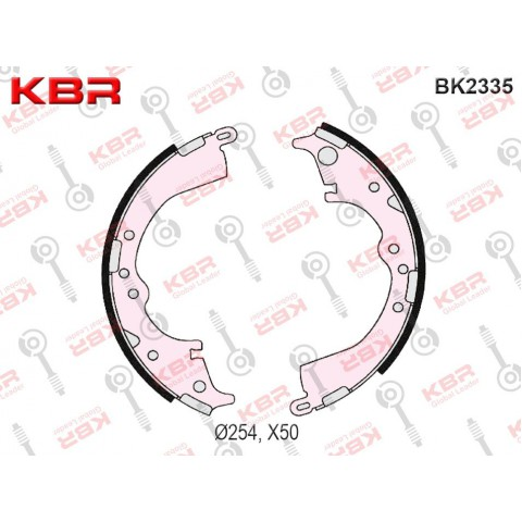 BK2335   -   BRAKE SHOE