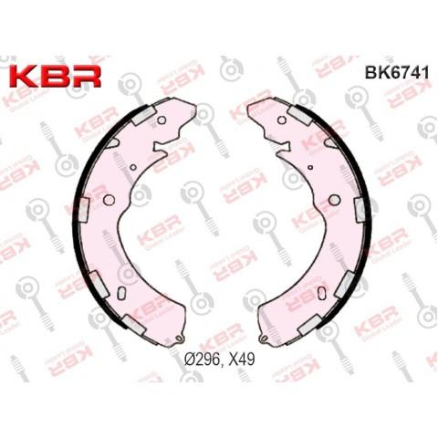 BK6741   -   BRAKE SHOE