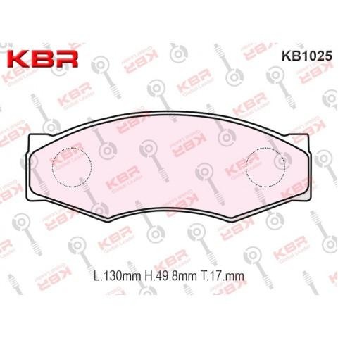 KB1025   -   Brake Pad