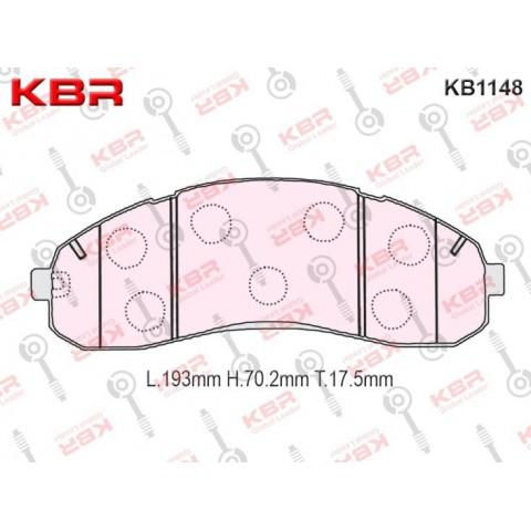 KB1148   -   Brake Pad