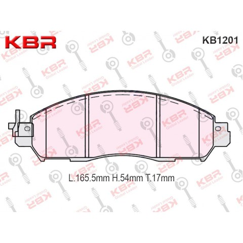 KB1201   -   Brake Pad