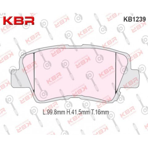 KB1239   -   Brake Pad
