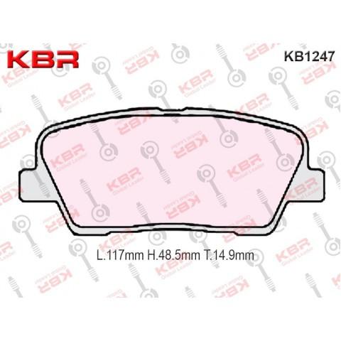 KB1247  -   Brake Pad
