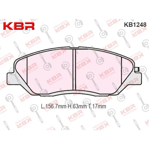 KB1248   -   Brake Pad