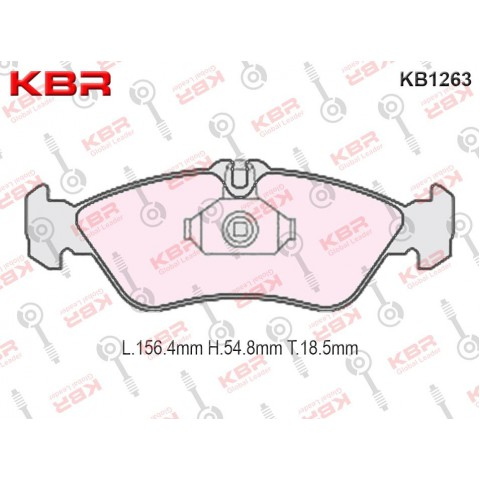 KB1263   -   Brake Pad