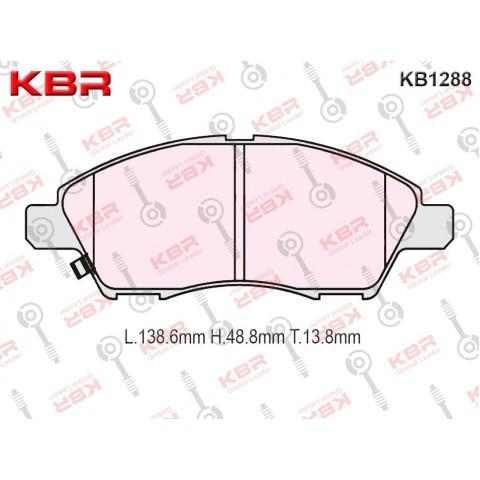 KB1288   -   Brake Pad