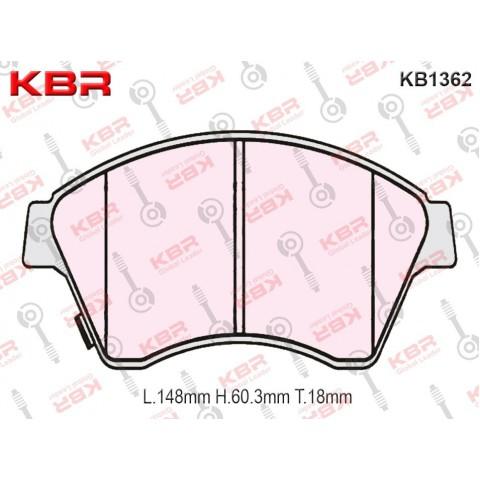KB1362   -   Brake Pad