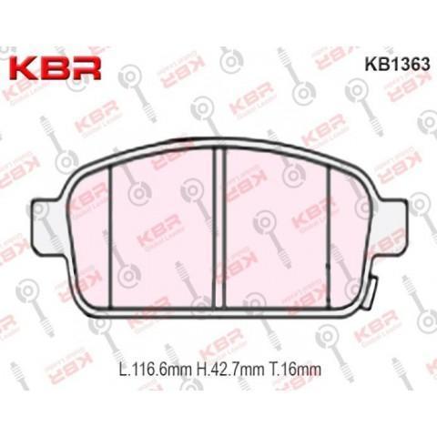 KB1363   -   Brake Pad